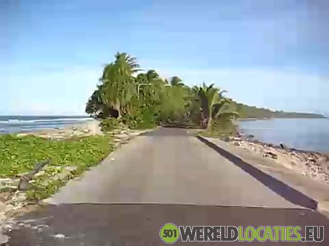 Tuvalu - Een fietstocht over Fongafale