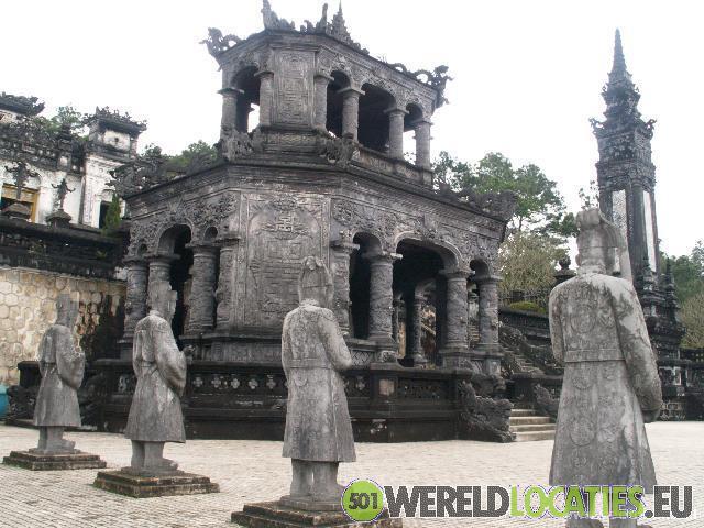 De oude Citadel van Hué