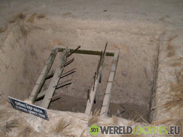 Vietnam - De tunnels van Cu Chi