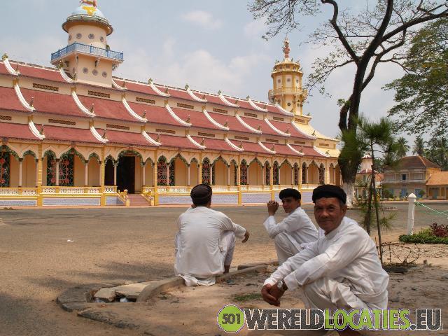 Tempel van de Cao Dai in Tay Ninh