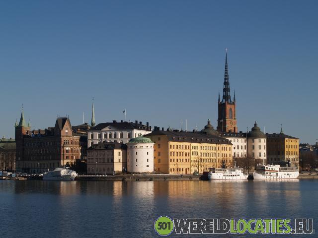 Zweden - Gamla Stan , het oude centrum Stockholm
